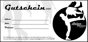 Swing Dance Leipzig - Gutschein